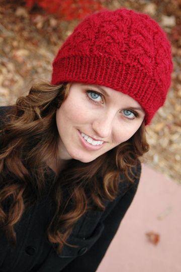 Free Knitting Pattern - Hats: Cranberry Sauce Hat | Knitted hats .
