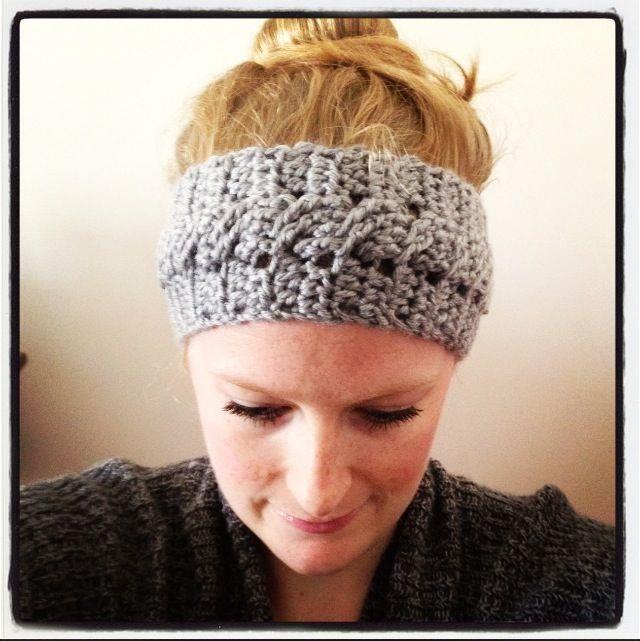 Free Crochet Headband & Earwarmer Patterns | Crochet headband .