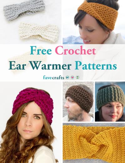27 Free Crochet Ear Warmer Patterns | FaveCrafts.c