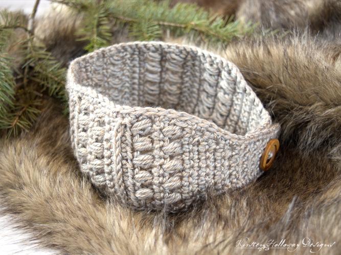 Sugar Maple Headband: An Easy Crochet Pattern, With Button Closure .