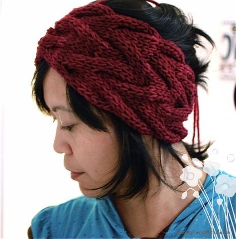 Free pattern: Vanessa Headband | Getting Purly With