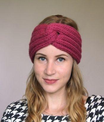 Free Knitted Headband Patterns | OMG! Heart » Free Knitting .
