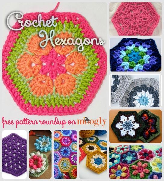 Hexagon Crochet Patterns