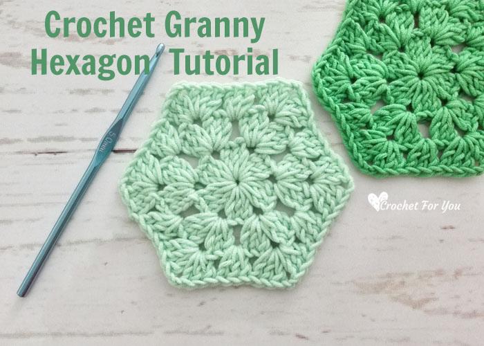Crochet Granny Hexagon Free Pattern - Crochet For Y