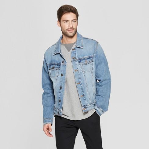 Men's Denim Trucker Jacket - Goodfellow & Co™ : Targ
