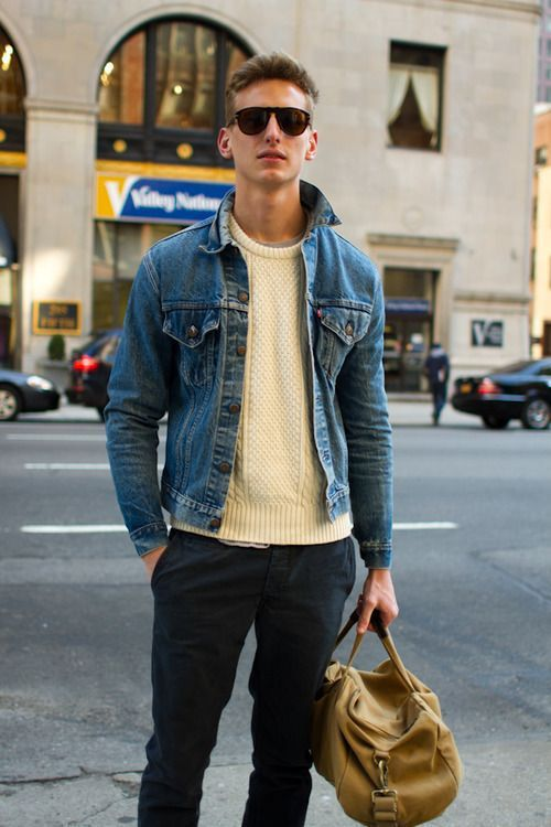 Men's Style - Jean Jackets by (Life) Without A Net | Jean jacket .