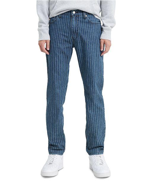 Levi's Men's 511™ Slim Fit Pinstripe Jeans & Reviews - Jeans - Men .