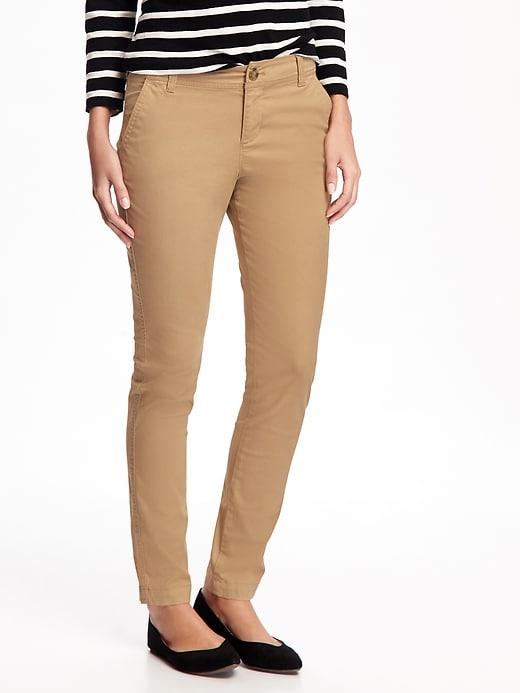Mid-Rise Skinny Everyday Khakis For Women | Skinny khaki pants .