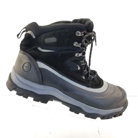 Khombu Shoes | 744067 Flume Mens Thermolite Leather Boots | Poshma