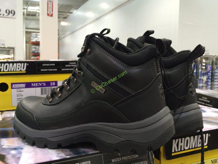 Khombu Men's Leather Boot Size: 8-13 – CostcoChas