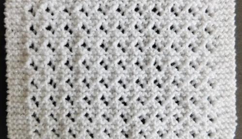 Lovely Lace Baby Blanket Pattern   AllFreeKnitting.c