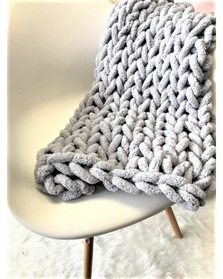 Chunky Knit Blanket Private Event- Bachelorette Party - Make It .