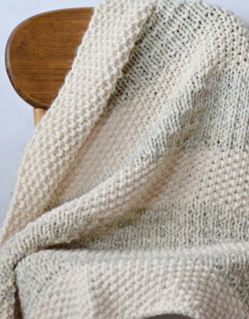 Easy Heirloom Knit Blanket Pattern | AllFreeKnitting.c