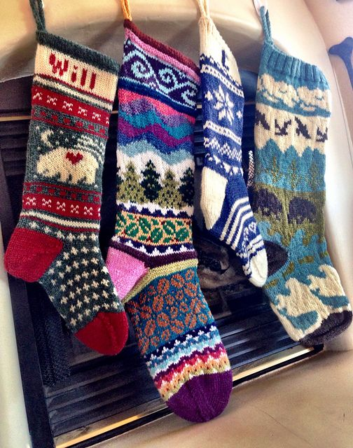 Ravelry: Project Gallery for Spindleknitter's Stockings pattern by .