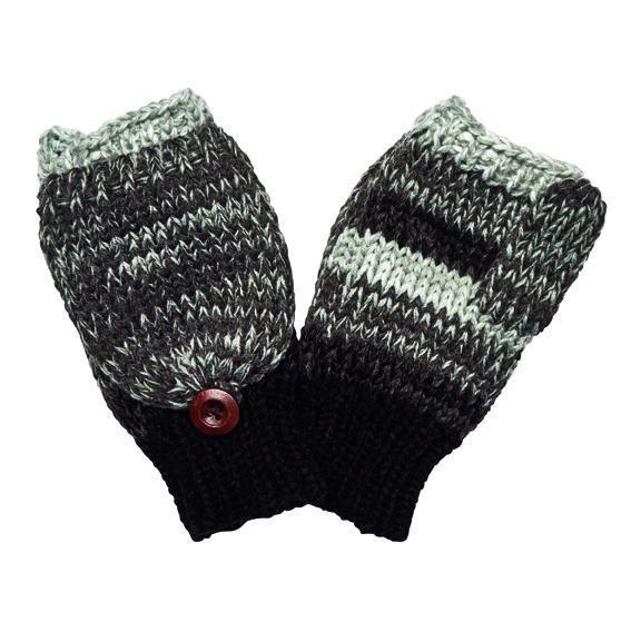 Women's Marled Knit Gloves (KNG3598) -FS - San Diego Hat Compa