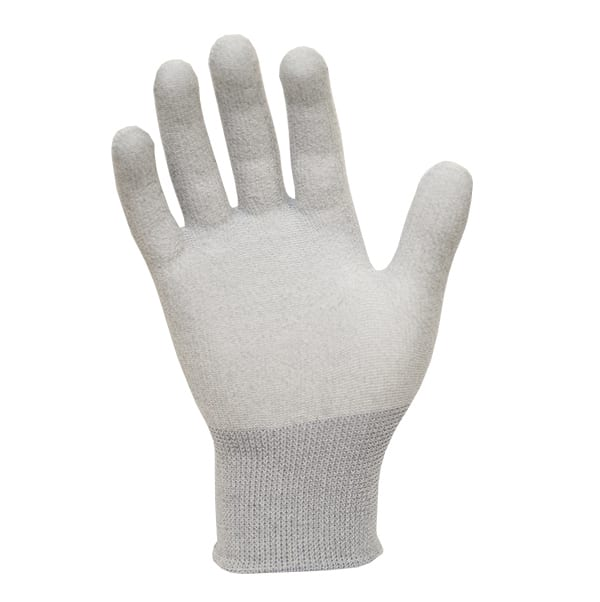 ESD Seamless Knit Gloves - Carbon - Antistat ESD Protecti