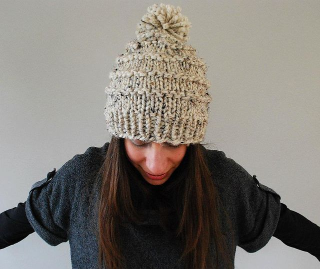 The Vermonter pattern by Abi Gregorio   Free chunky knitting .