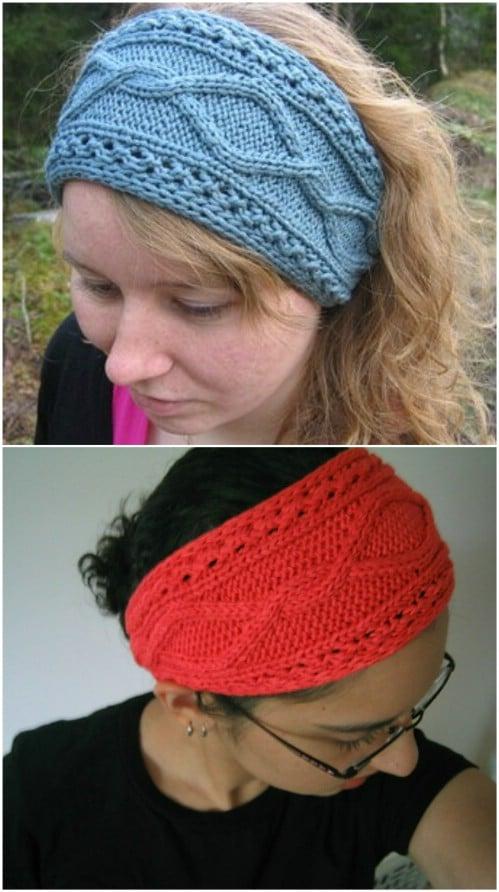 32 Easy And Stylish Knit And Crochet Headband Patterns - DIY & Craf