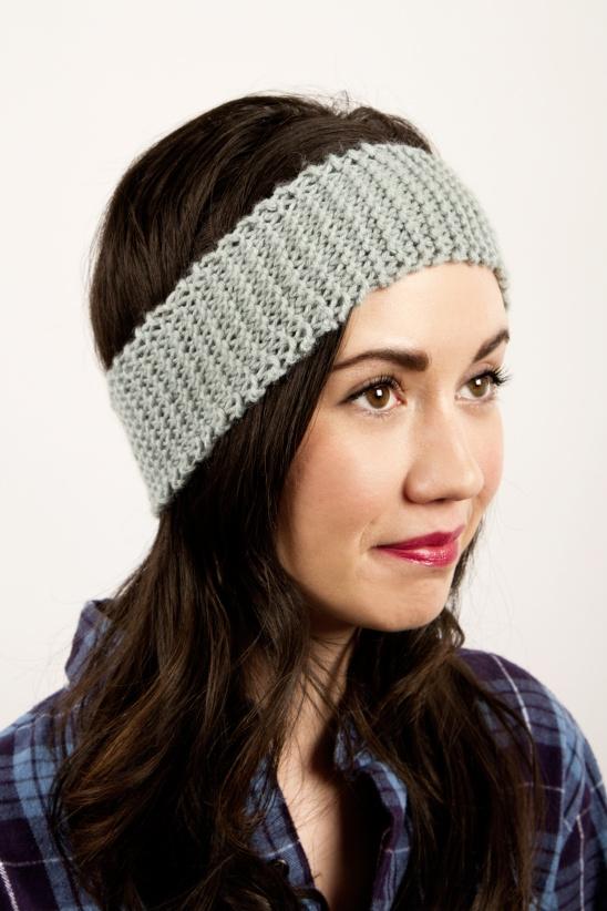 Newbie Knitted Headband by Kollabora | Project | Knitting / Hats .