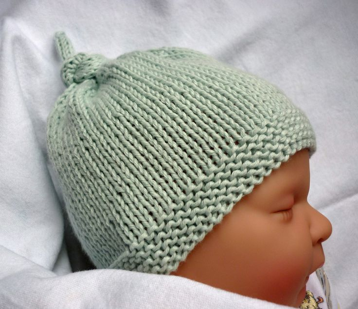 Free Hat Knitting Patterns | Baby hats knitting, Baby hat knitting .