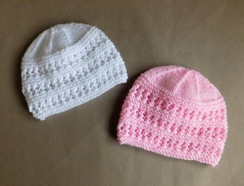 Two Baby Hat Knitting Patterns | AllFreeKnitting.c