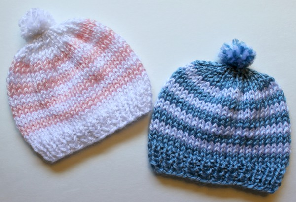 Knitting Newborn Hats for Hospitals - The Make Your Own Zo