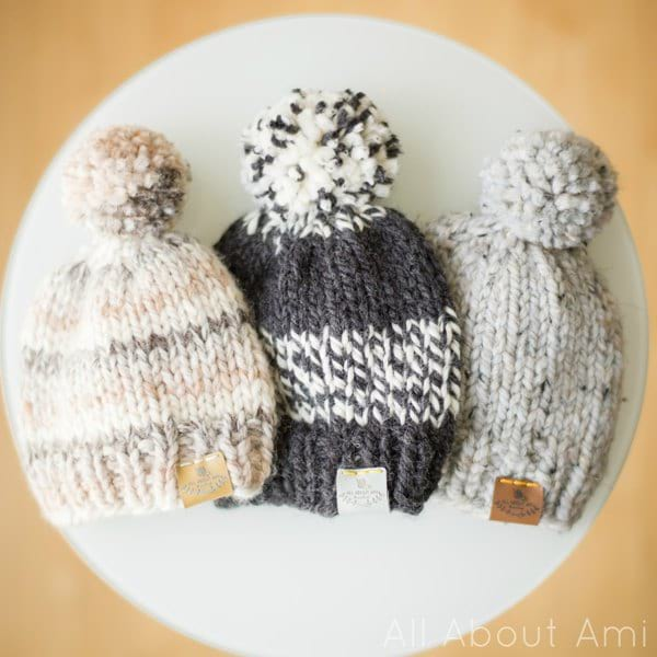 Basic Knitted Baby Hat - All About A