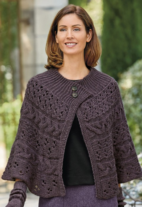 Italian knitted ca