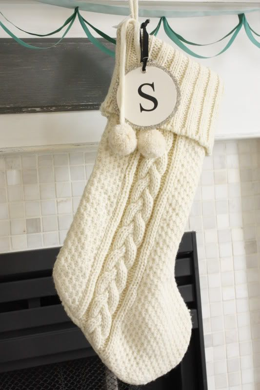 Personalized and monogrammed Christmas stockings for the family .