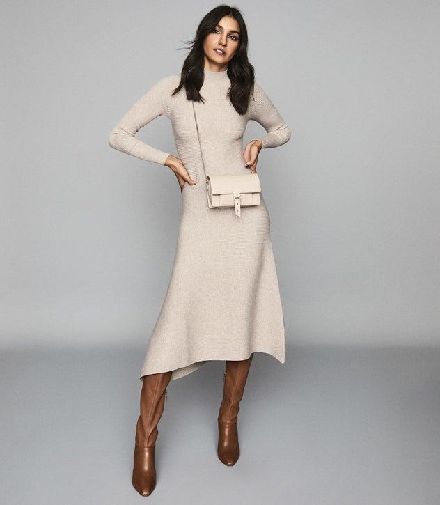 Leo Stone Turtleneck Knitted Dress – REI