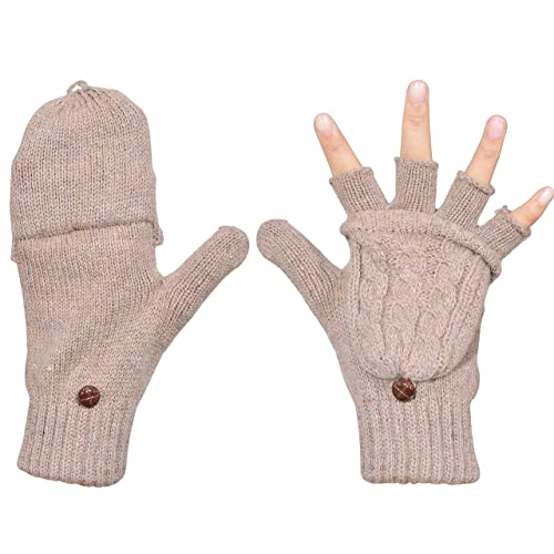 Knitted Gloves: Amazon.c