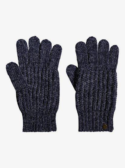 Gypsy Child Lurex Knitted Gloves 192504332029   Ro
