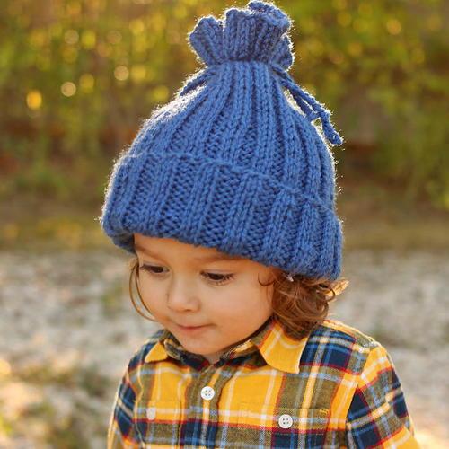 No-Brainer Knit Hat Pattern | AllFreeKnitting.c