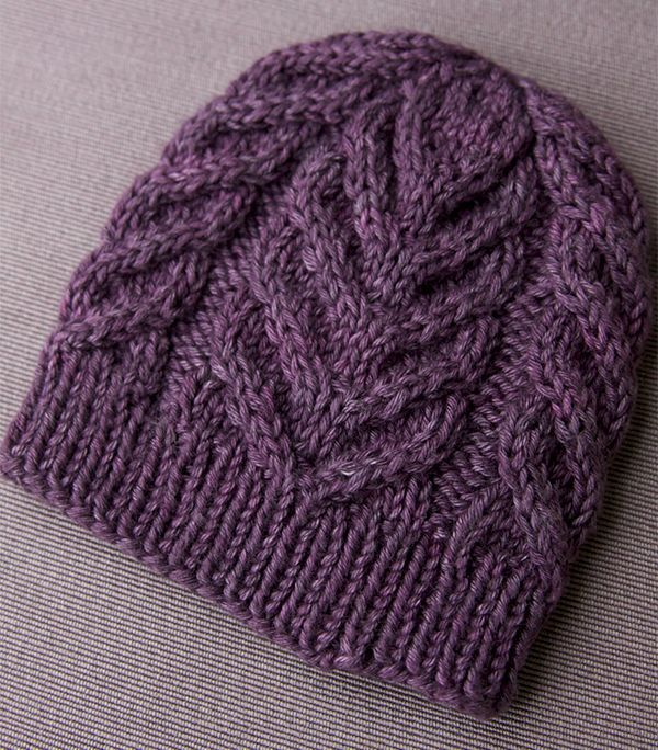 15 Cable Knit Hat Patterns for Free - The Funky Stit