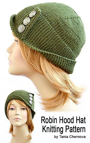 Robin Hood Hat Pattern Womens Hat Knitting Pattern Robin Hood .