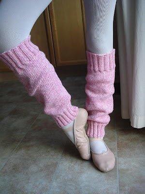 Easy Peasy Ballerina Leg Warmers | AllFreeKnitting.c