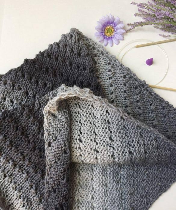 easy shawl knitting pattern Archives - Craft-Ma