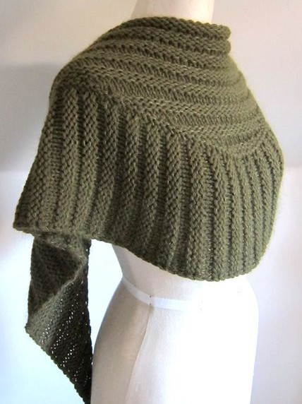 Textured Shawl Knitting Patterns - In the Loop Knitti