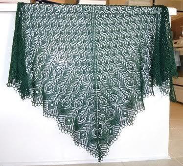 Free Shawl Patterns | Free Knitting Pattern - Shetland Lace Shawl .