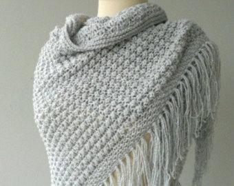 Knitted Shawls, Scarves, Shawls, Stoles, Bandanas | Rhine .