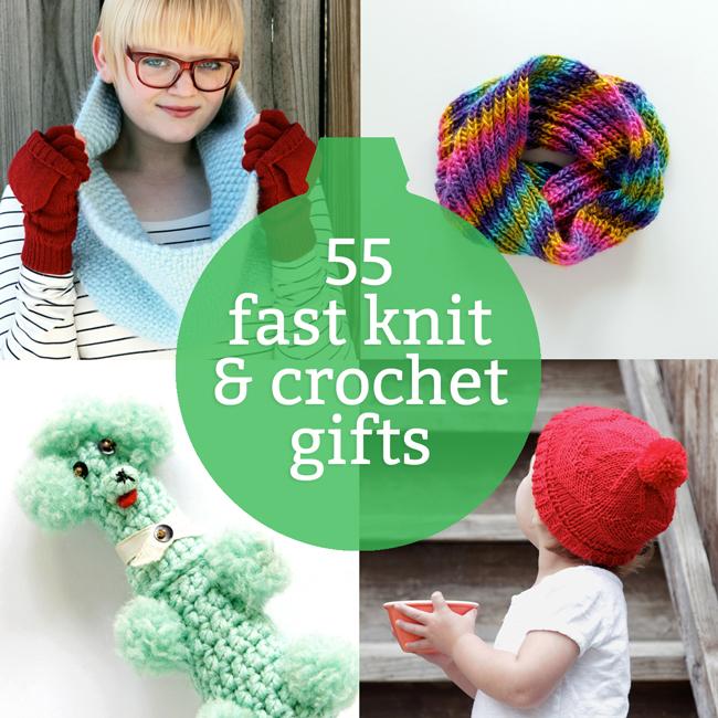 55 Last Minute Knit & Crochet Gift Ide