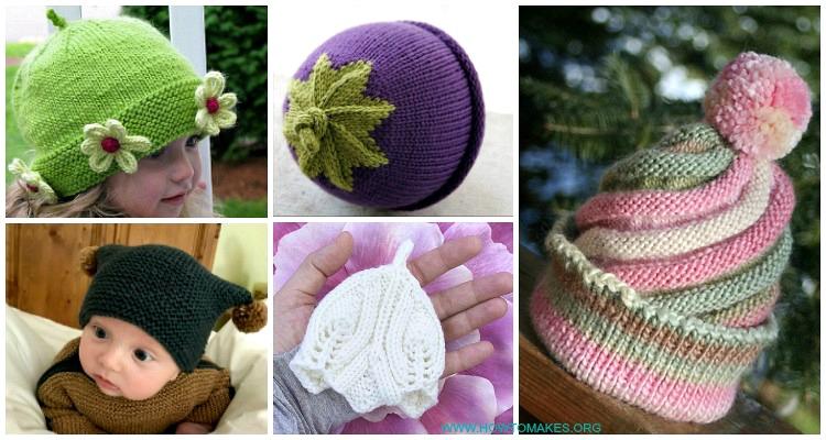 Baby & Kids Beanie Hat Free Knitting Patter