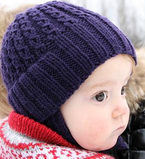 Ravelry: Double Rib Toddler Hat pattern by Torunn Es