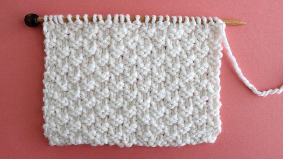 Knit Stitch Patterns for Beginning Knitters | Studio Kn