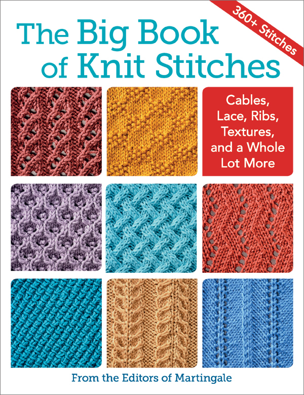 366 different knit stitches at your fingertips: oh, the .
