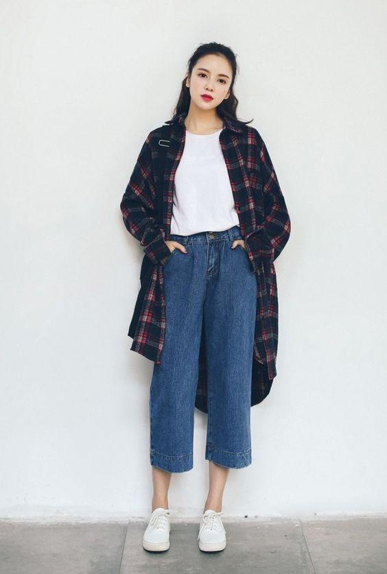 Korean Fashion Inspiration S/S 2017   Gaya model pakaian korea .