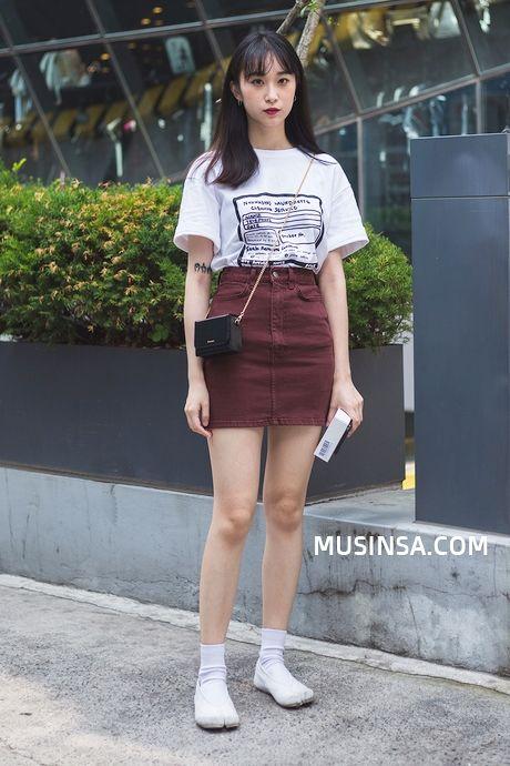 Korean Fashion Blog online style trend   Korean street fashion .