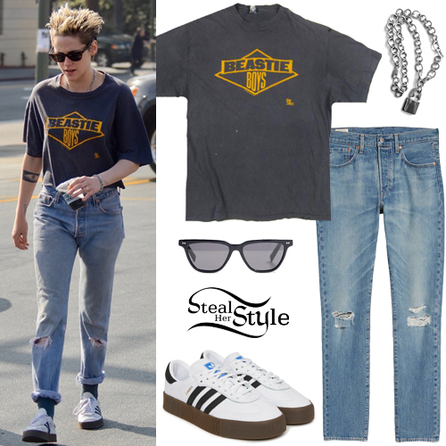 Kristen Stewart Clothes & Outfits   Steal Her Sty