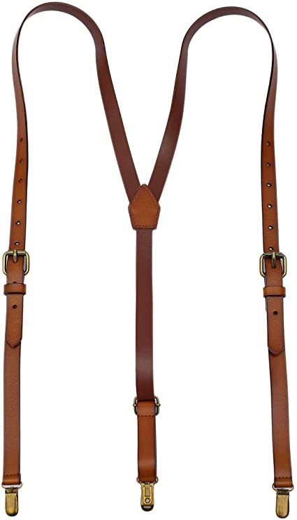 Exception Goods Leather Suspenders For Men Y Back Design .