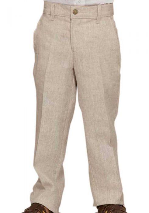 Classic Boys Linen Pants. Lin